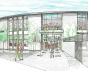 El Gabilan Library Drawing